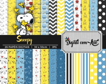 Snoopy Digital Paper