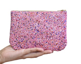 Limited Edition Pink Glitter Bag