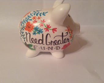 Piggy Bank Baby Family Savings Need Greater Fund