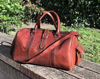 Leather - Weekender bag
