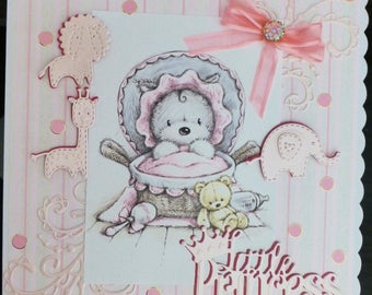 A New Baby Girl card