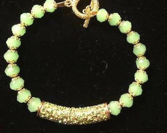 Lime green golden