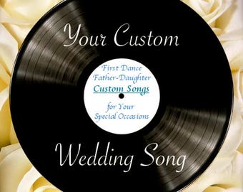 A Personalized, Custom Wedding Song
