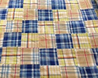 Madras Twill Fabric Cotton- SALE - Fabric Finds Fabric  - 1 Yard