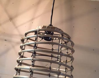 basket pendant lamp