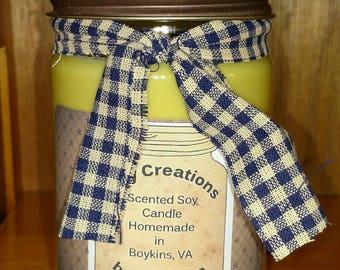 12 oz Soy Jar Candle