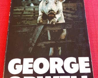 Animal Farm by George Orwell. Penguin book.