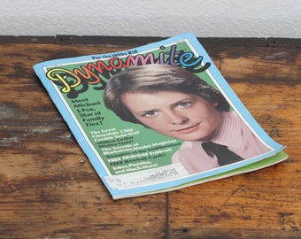 1984 Dynamite With Michael J. Fox Cover #118