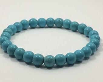 Men's Turquoise Beaded Bracelet