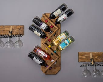 8 bottle wine bottle holder