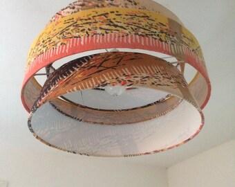 Tiscali - mid century modern inspired Troika lampshade