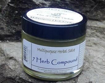 7 Herb Compound-Herbal Healing Salve