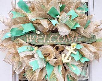 Welcome Wreath 24""