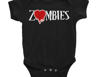 Zombies Baby Onesie by GothGoth Co.