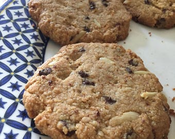 Not Your Average Cookie- An Organic, Gluten Free, Dairy Free, and Guilt Free Indulgence- 8 Cookies