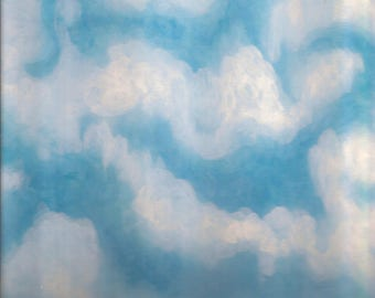 The Clouds Art Print Original Signed Limited Print