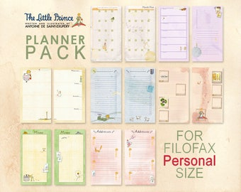 Petit Prince _ Planner pack for PERSONAL planner