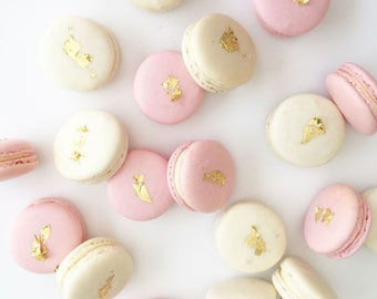 30 Authentic French Macarons - Wedding Favours, made fresh to order - Delivery Nationwide