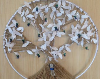 Tree of Life Wall Hanging 'Dreaming of Winter'