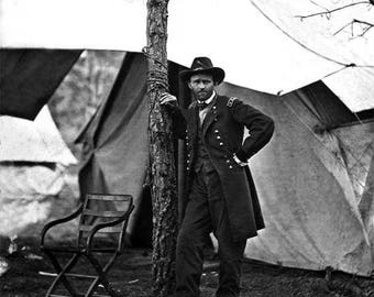 Union General Ulysses S. Grant at Cold Harbor
