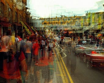 Photography,Manu Requena,multiexposure,analog,Camdem,gift for her, gift for him, art,house decoration,London,limited edition,Manuel Requena