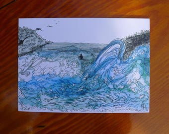 "Artist Postcard ""The Ocean"""