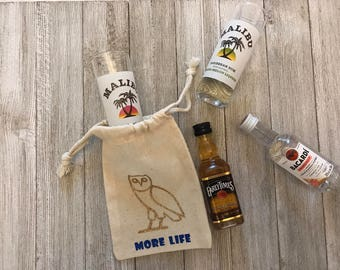 More Life-Drake-Owl-Party Favors-Muslin Bags