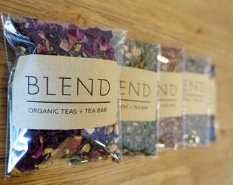 Organic Custom Tea Blend - Sample Pack