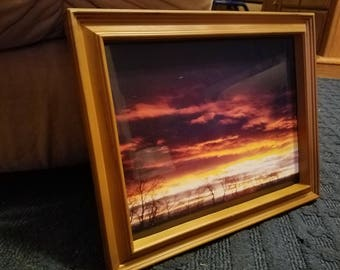 Sunrise Framed Photograph