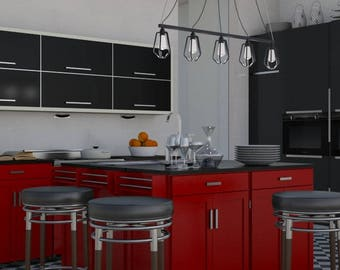 E-Design Package Kitchen with 3D Render