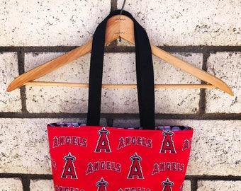 Angels Baseball tote bag