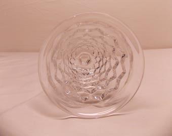 Vintage Fostoria AMERICAN Elegant Glass Flared Footed 7PC LOT Juice Glasses