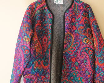 Colorful Paisley Coat