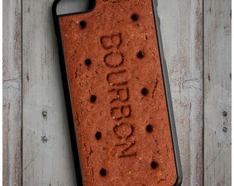 Novelty Bourbon Chocolate Biscuit Cool New Case Cover for any iPhone