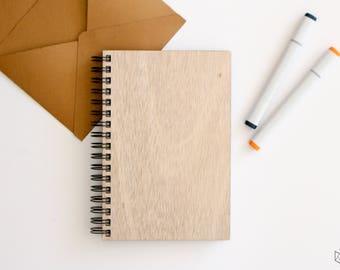 Customizable wooden book