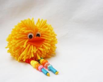 Pompom Bird Children's Craft Kit