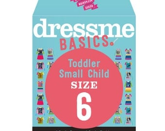 Dressme Basics - Pattern SIZE 6 - 1 Dress and 1 T-shirt - 1000s of possibilities