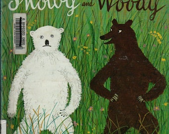 Snowy and Woody - Roger Duvoisin - 1979 - Vintage Kids Book