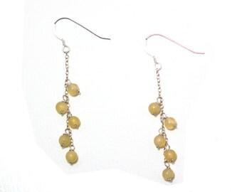Ximena - Aragonite earrings