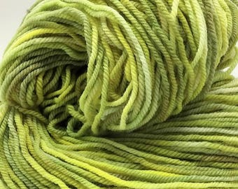 SALE- SPROUT 292 yds/4.25 oz targhee worsted wt 3 ply yarn- destash, ooak, cowl, scarf, gift, knit, crochet, weave, felt