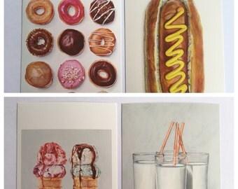 Joël Penkman artist postcards set of 10