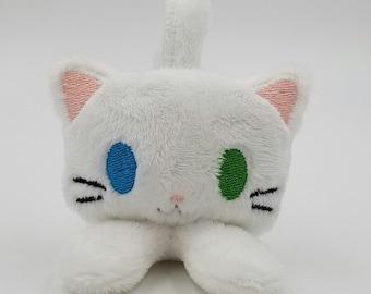Ready to ship! ~ White Itty Bitty Kitty Plush Toy!