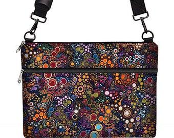 "13"" Laptop Bag Women, iPad Pro 12.9 Case, MacBook Pro 13 Sleeve, Macbook Air Case, Dell XPS 13, Asus Zenbook & more, colorful dots,  MTO"