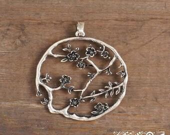 Cherry Blossom Pendant - DIY Jewelry