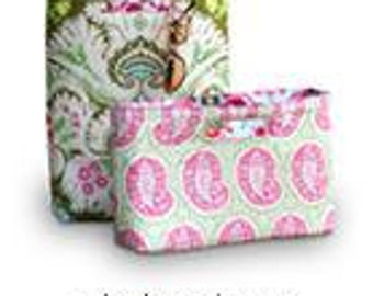 Amy Butler Chelsea Bags Sewing Pattern Midwest Modern Reversible Tote Free Shipping