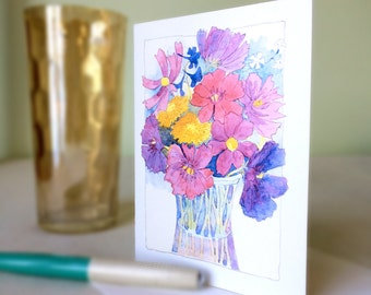 Cards - Farmstand Bouquet, set of 4