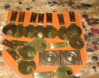 Brass and Bronze hardware for Roman Legion belt