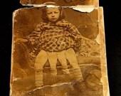 Spring Cleaning Sale Josephene Myrtle Corbin Photo Four Legged Girl From Texas Black and White Photo Vintage Photo 1880 Photo