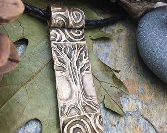 Bronze Tree Pendant, Bronze Tree of Life Necklace, Tree of Life Jewelry, Celtic Jewelry, Irish Jewelry, Druid Trees Jewelry, Pagan Jewelry