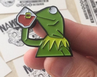 "But That's None of My Business 1.5"" Soft Enamel Pin"